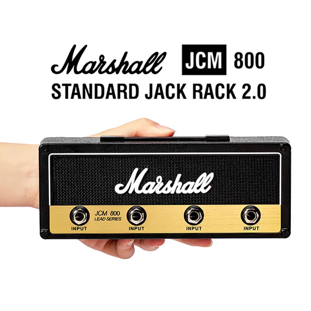 스토리지 마샬 기타 키 체인 홀더 벽 전기 키 랙 앰프 빈티지 앰프 JCM800 표준 선물