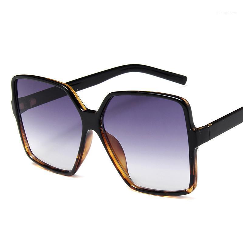 Occhiali da sole Higody Moda Donna Oversize Gradiente Plastica Brand Designer Femminile Occhiali da sole UV400 Lentes de Sol Mujer1