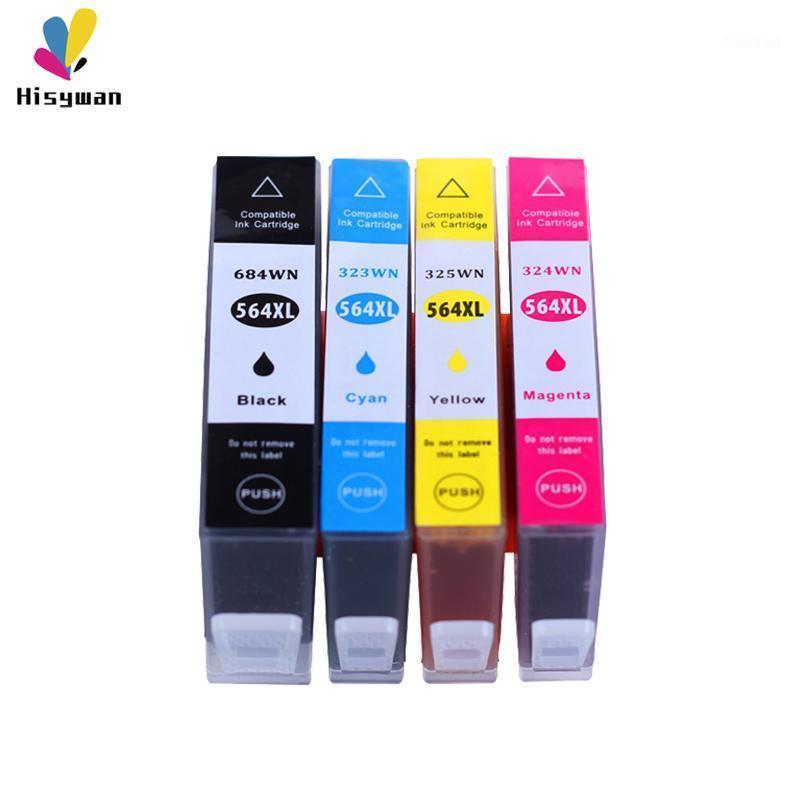 Hisywan 564XL ink cartridge For 564 Photosmart 5510 5514 5515 5520 6510 B109a B110a B209a 7510 C310a 3070A 3520 4620 printer1