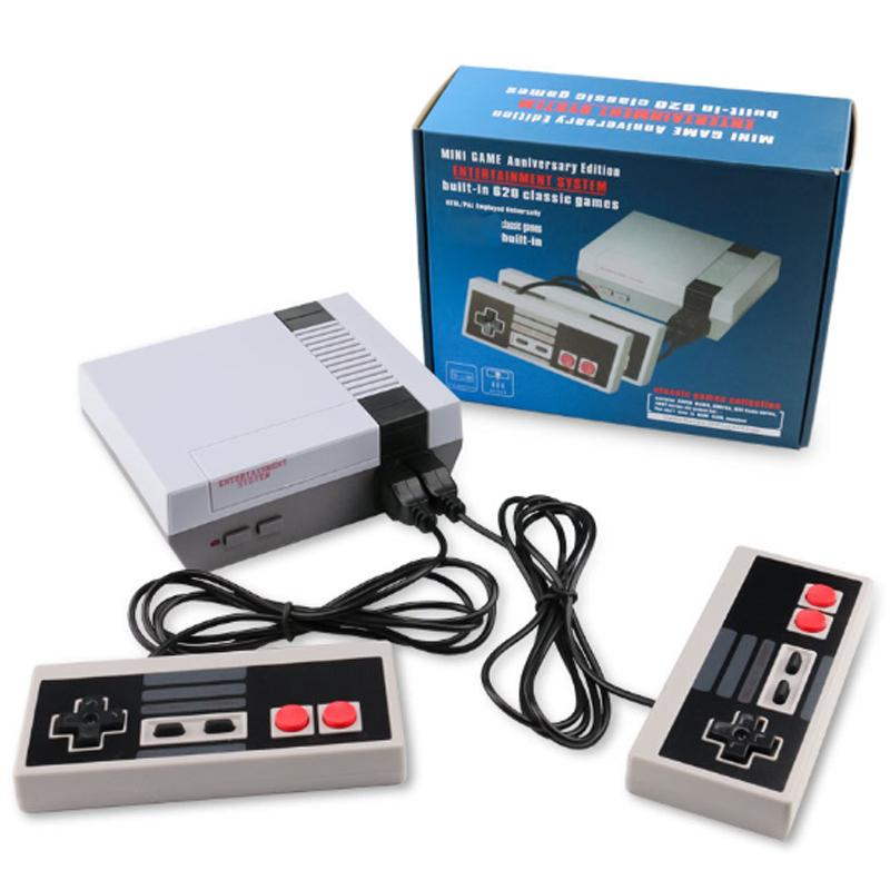 Mini TV Game console 620 Video Handheld For NES Games Wth Retail Box Package