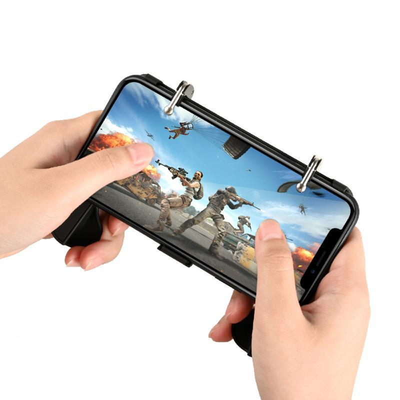 For PUBG Controller Game Shooter Trigger Pubg Mobile Controller Fire Button For Phone Gamepad Joystick
