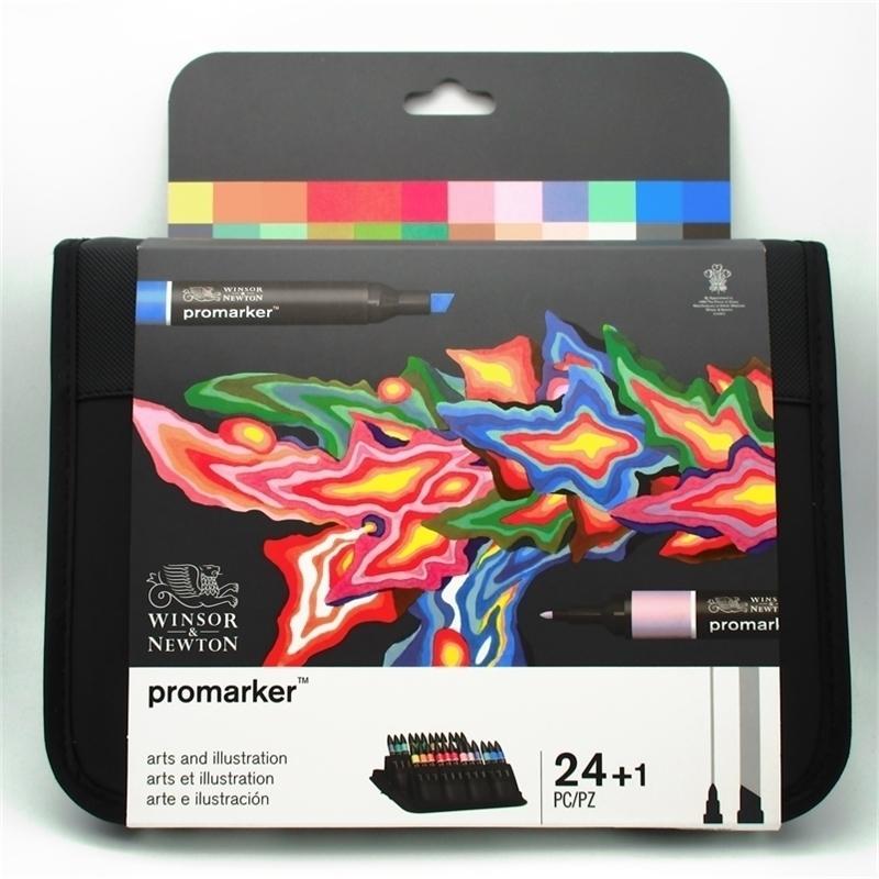 Winsor Newton Promarker 24 colores marcadores fijados 201222