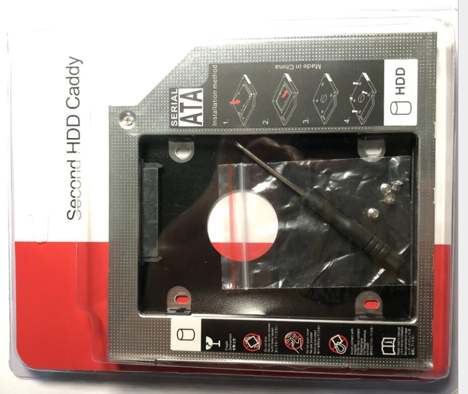 200pcs Lotto 9.0mm 12.7mm Tutte le alluminio Assessuale versione 2.5 HDD, SATA 3.0 I II III 1TB SDD Canddy Desktop Laptop