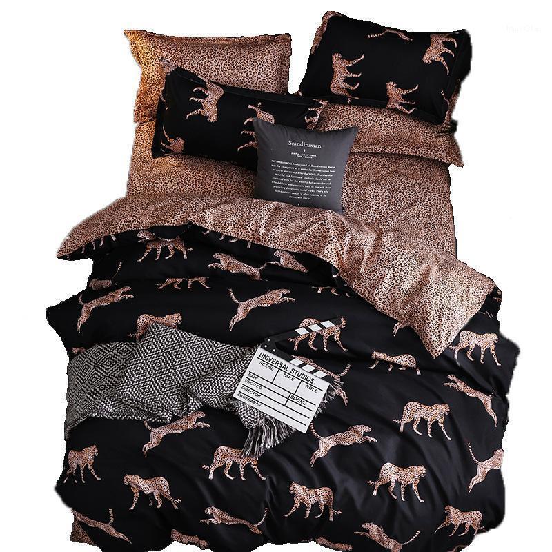 مجموعة مفروشات السرير ورقة السرير غطاء لحاف فندق الفراش المنسوجات المنزلية 1