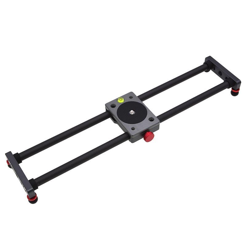 MINI Caméra Rail Trépied Trépied Fibre de carbone Type de bureau Type de roulement Stabilisateur Vidéo pour Smartphone Universal