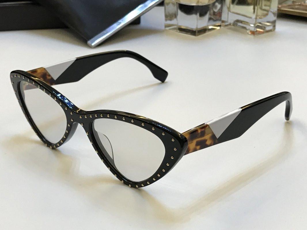 جديد 0323 مصمم أزياء النظارات الشمسية الرجعية البيضاوي الإطار الكامل نظارات الشمس خمر أسلوب فاسق نظارات أعلى جودة UV400 حماية تأتي مع مربع