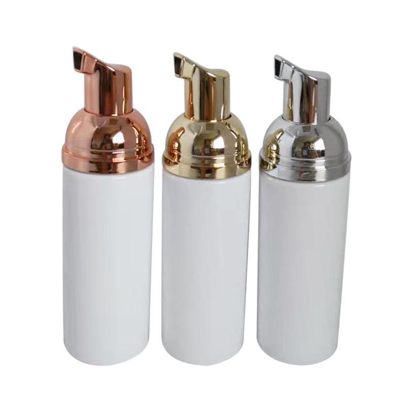 Оптовый быстро 100ps 100мл для лица Wash Bottle насоса белой жидкой мыла лучшей дешевые пены бутылки с золотым пенообразователем
