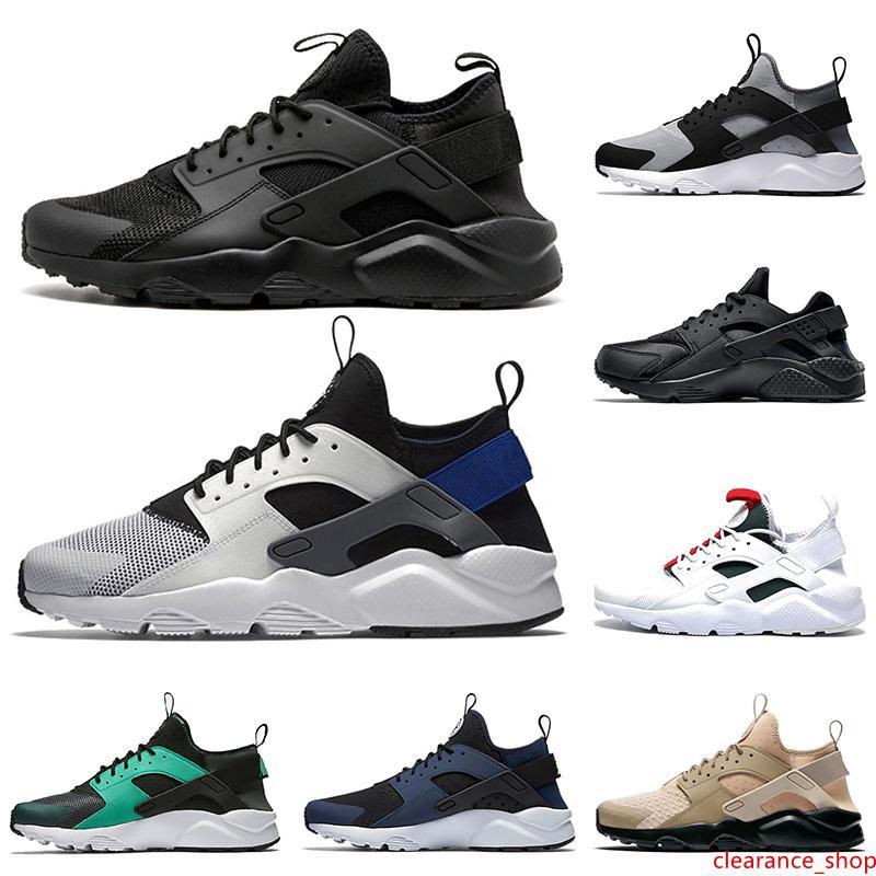 2020 Moda ACE Huarache IV 4.0 1.0 Hombres Mujeres Zapatos de la zapatilla Operando Triple Negro blanco púrpura verde huaraches Sport zapatillas de deporte 36-45