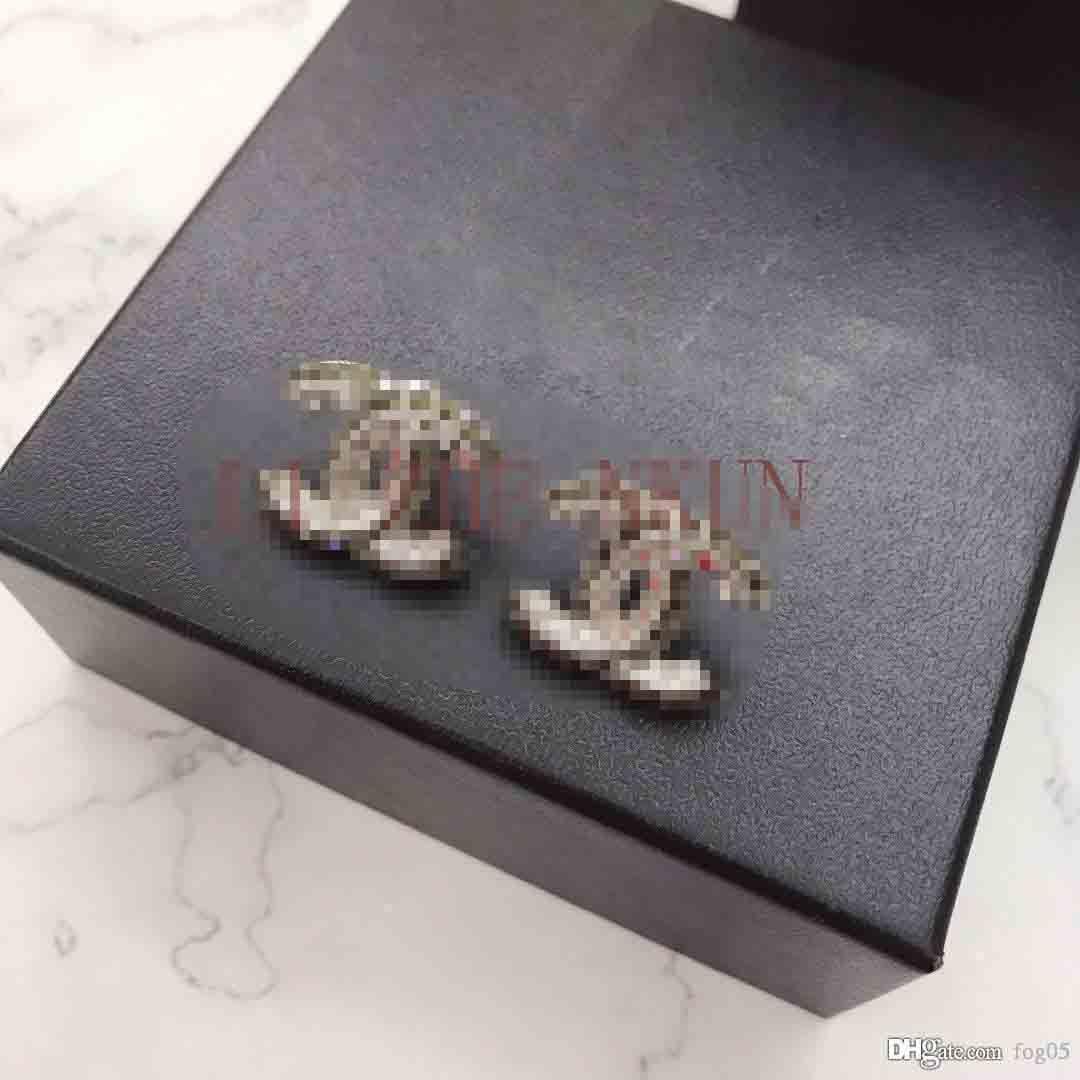 Progettazione Orecchini ultimo disegno Prodotti orecchini di perle di lusso superiore per la donna alla moda orecchino di modo Accessori di alimentazione