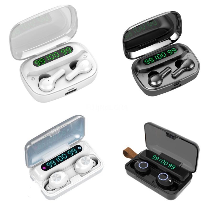 QCY T1 Mini Wreless Kulaklık Bluetooth 5.0 Kulaklık Dokunmatik Kontrol Spor Stereo Kulaklık Mikrofon için Iphone Samsung Sony Müzik Kulaklık # 418