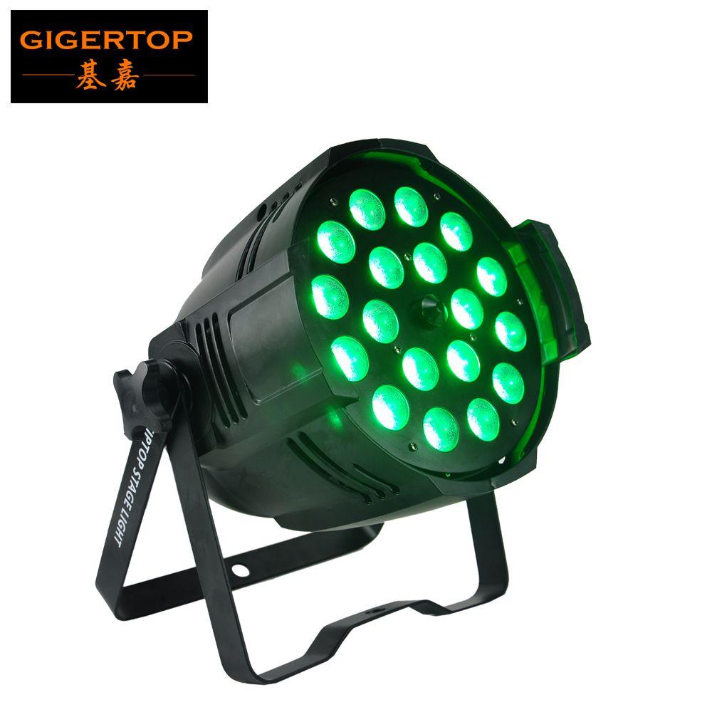 TIPTOP NOWY 18X18W RGBWA UV 6IN1 LED Zoom Par Light DMX 7/11 Kanały Tajwan Tianxin LEDS CE RoHS Indoor 4 LED Digital Display