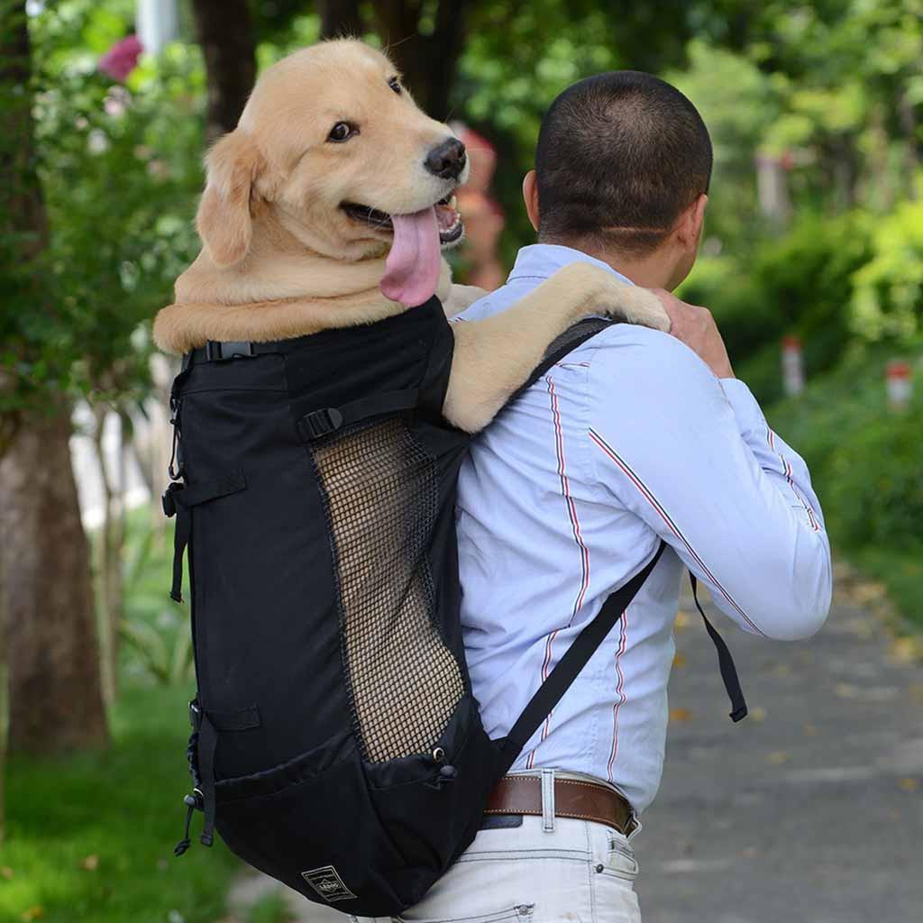 أفضل بيع كبير الحيوانات الأليفة الكلب القط الناقل حقيبة جرو في الهواء الطلق ركوب المشي لمسافات طويلة السفر الكلب الملحقات @ 45 LJ201201