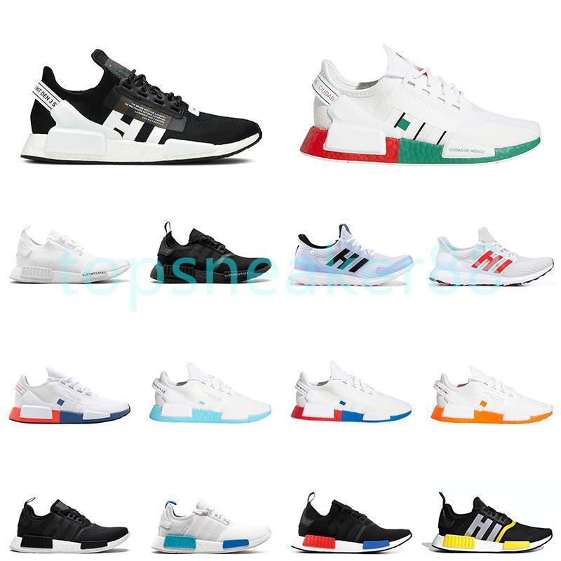 2021 Yüksek Kaliteli Erkek Kadın Koşu Ayakkabı Çekirdek Siyah Ve Beyaz Mercan Oreo Güneş Kırmızı Erkekler Antrenör Spor Ayakkabı