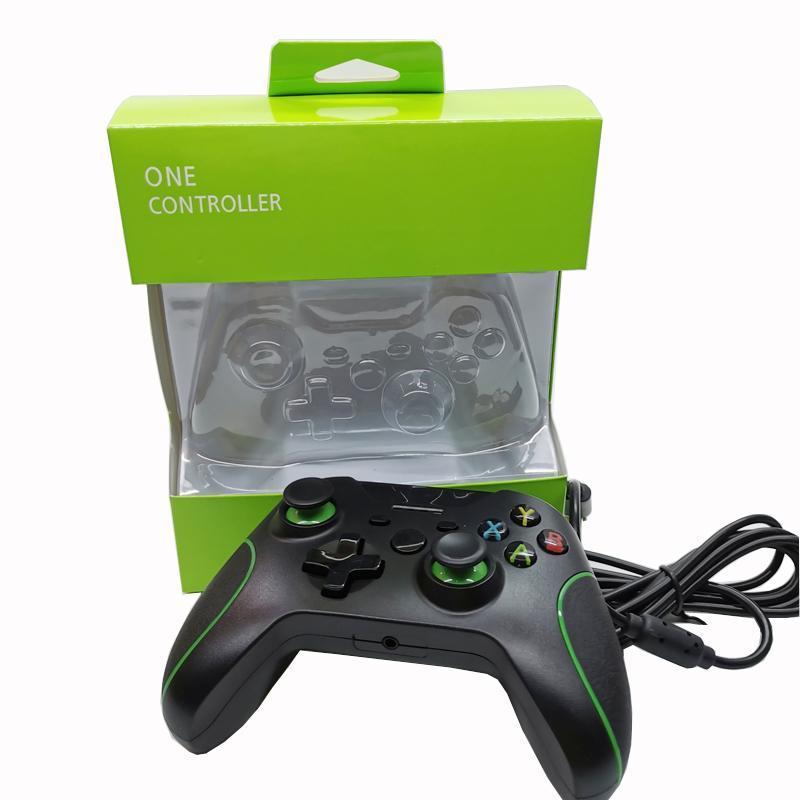 2020 mais novo USB Wired Controlador Para Xbox One S Video Game Mando Para Microsoft Xbox Um Magro Controle Jogo para Windows PC