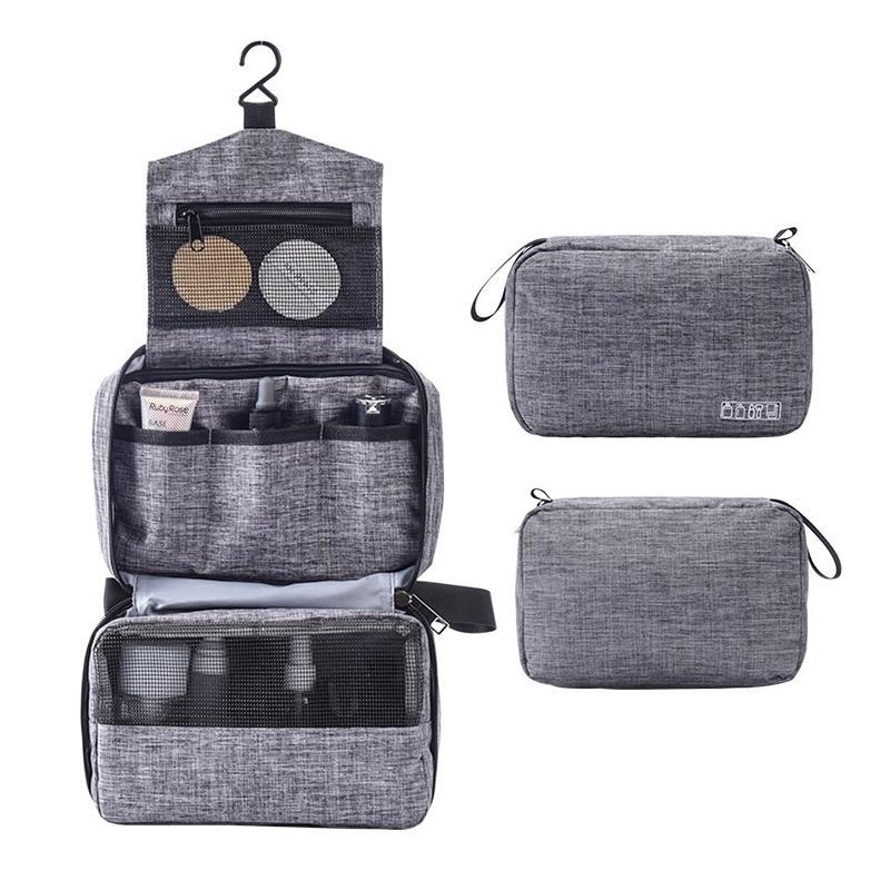 Femmes hommes voyages suspendus sac cosmétique maquillage maquillage nécessaire toilette lavage organisateur Vanity maquillage sac à bagages accessoires Y200714