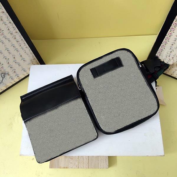 GC450 Splicing Due tasche Classic Making Waist Bag 956 Zipper e Magnete Stylish Bra Straps possono essere regolati e facili da trasportare