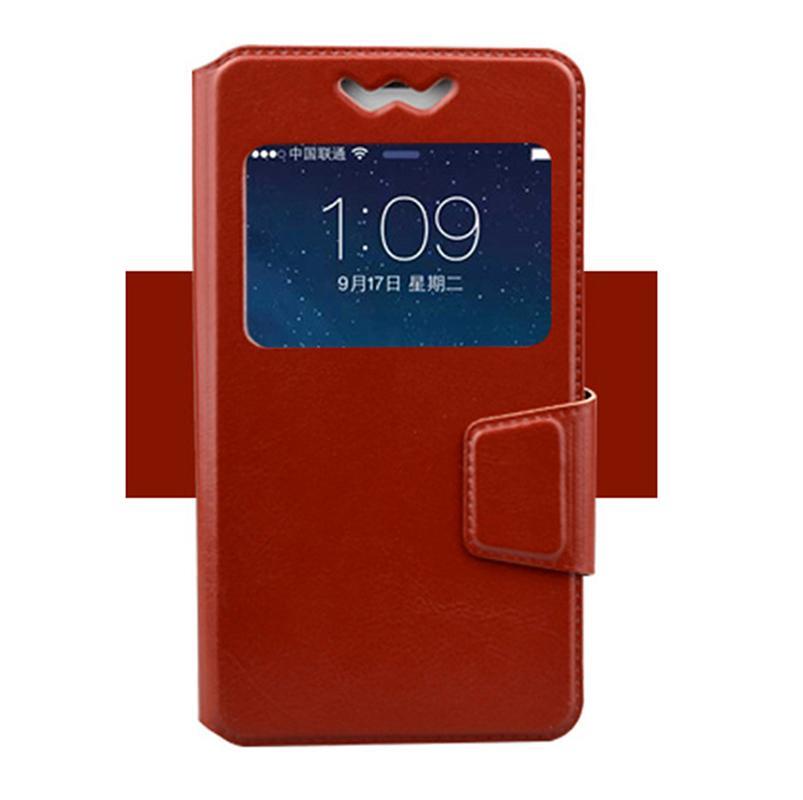 Neue Koffer abdecken PU-Leder aufwärts Mobiltelefonbuch-Buchhülle für ZTE-Blade A1 L3 A465 L5 Plus V7 Lite Geschwindigkeit Nubia Z11 Mini S