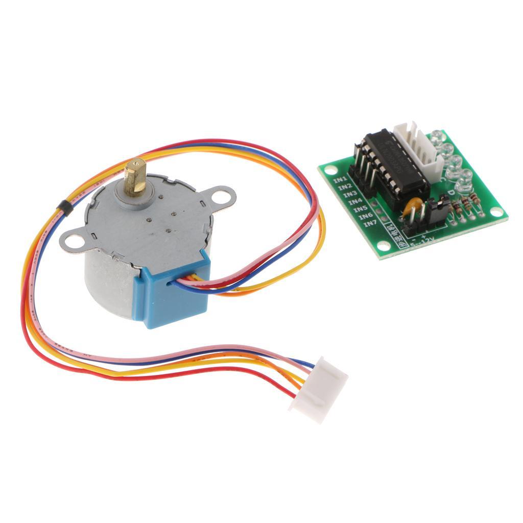 5V 스테퍼 모터 28BYJ-48 + 드라이브 테스트 모듈 보드 ULN2003 5 선 4 단계