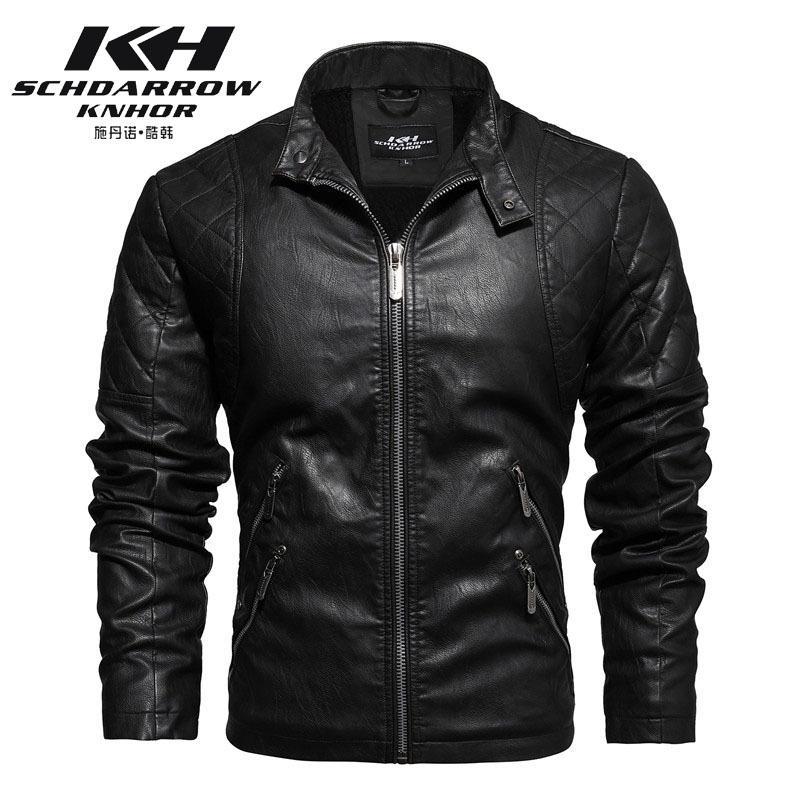 2020 Новый Урожай мотоциклов куртки для мужчин Keep Warm осень и зима куртки с мехом внутри