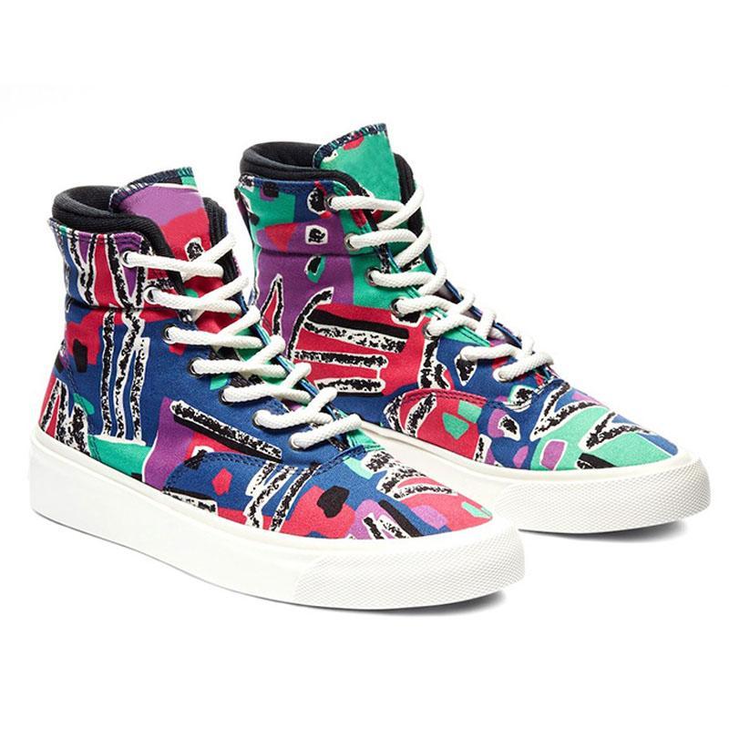 Холст Boots для мужчин Лоскутное лето кроссовки дышащий Trending Улица обувь 9 # 20 / 20d50