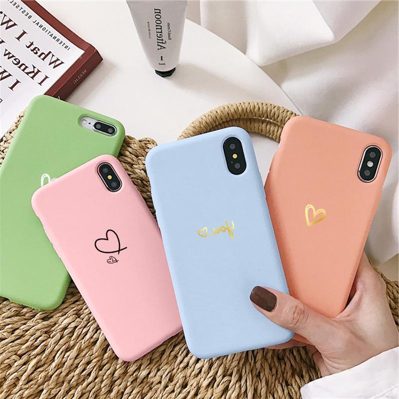 Liebes-Herz-Paar Fall für Samsung Galaxy A21S A20S A11 M11 A31 A41 A51 A50 A70 A71 Anmerkung 20 10 S20 S10 Ultra-S9 S8 Plus-Covers