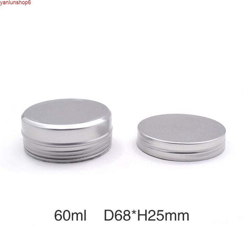 60 мл пустые алюминиевые базарки кремовые макияж инструмент для блеска для губ олова контейнер специи косметические металлические контейнеры 50 шт. / Lothigh Quattity