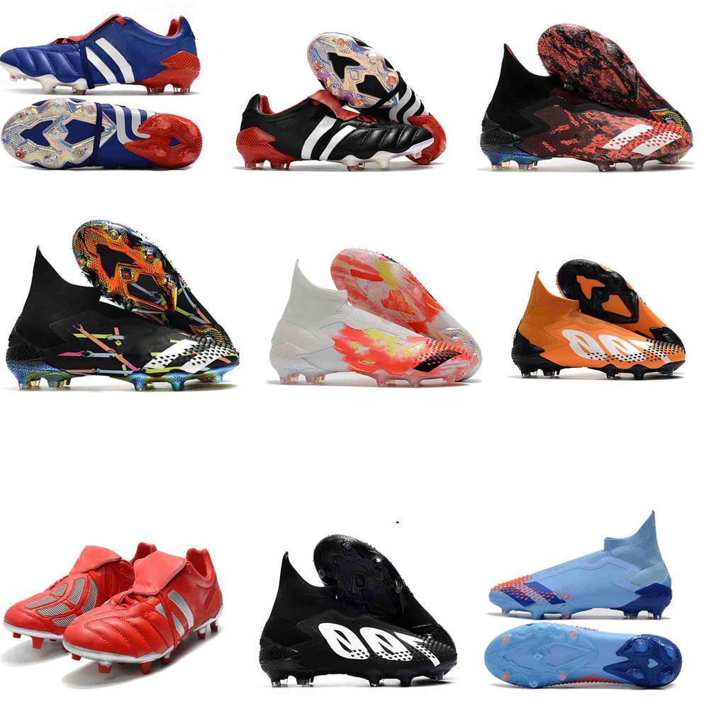 الأصلي 20 رحلات الطيران المفترس مسرع الكهرباء المفترس Mutator 20+ يصبح 1998 98 الرجال الأحذية أحذية كرة القدم المرابط كرة القدم حجم 39-45