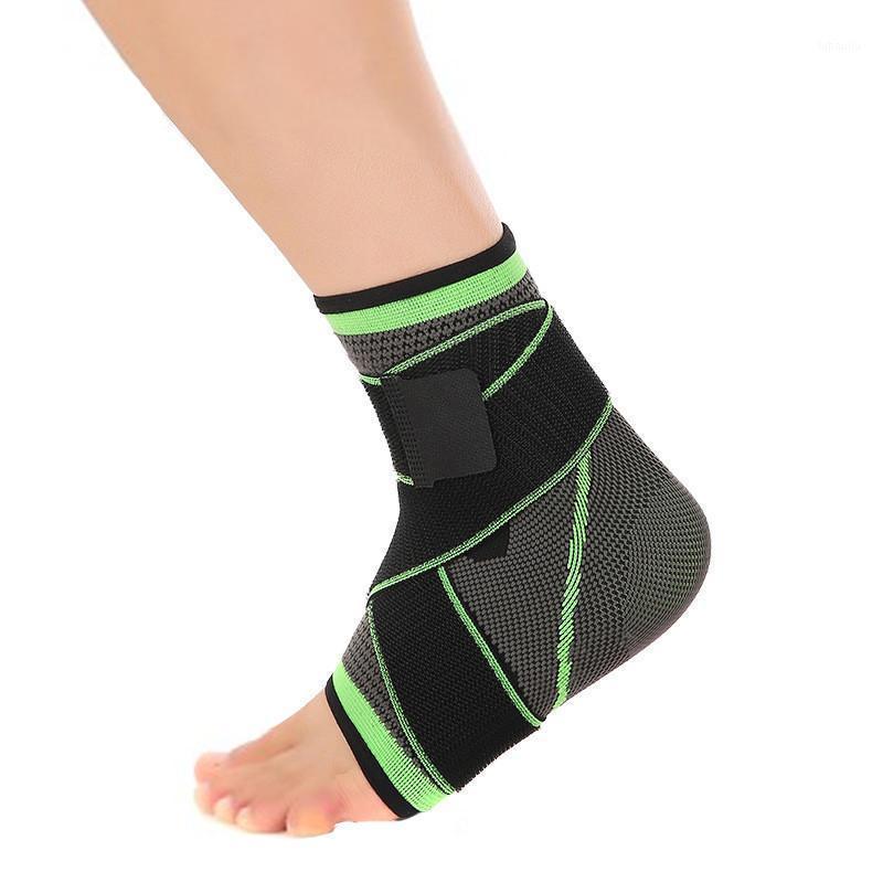 1pcs 3D tissage élastique Sangle de nylon de nylon BRACE BRACE BACE BADMInton Basketball Football Taekwondo Fitness Heel Protector1