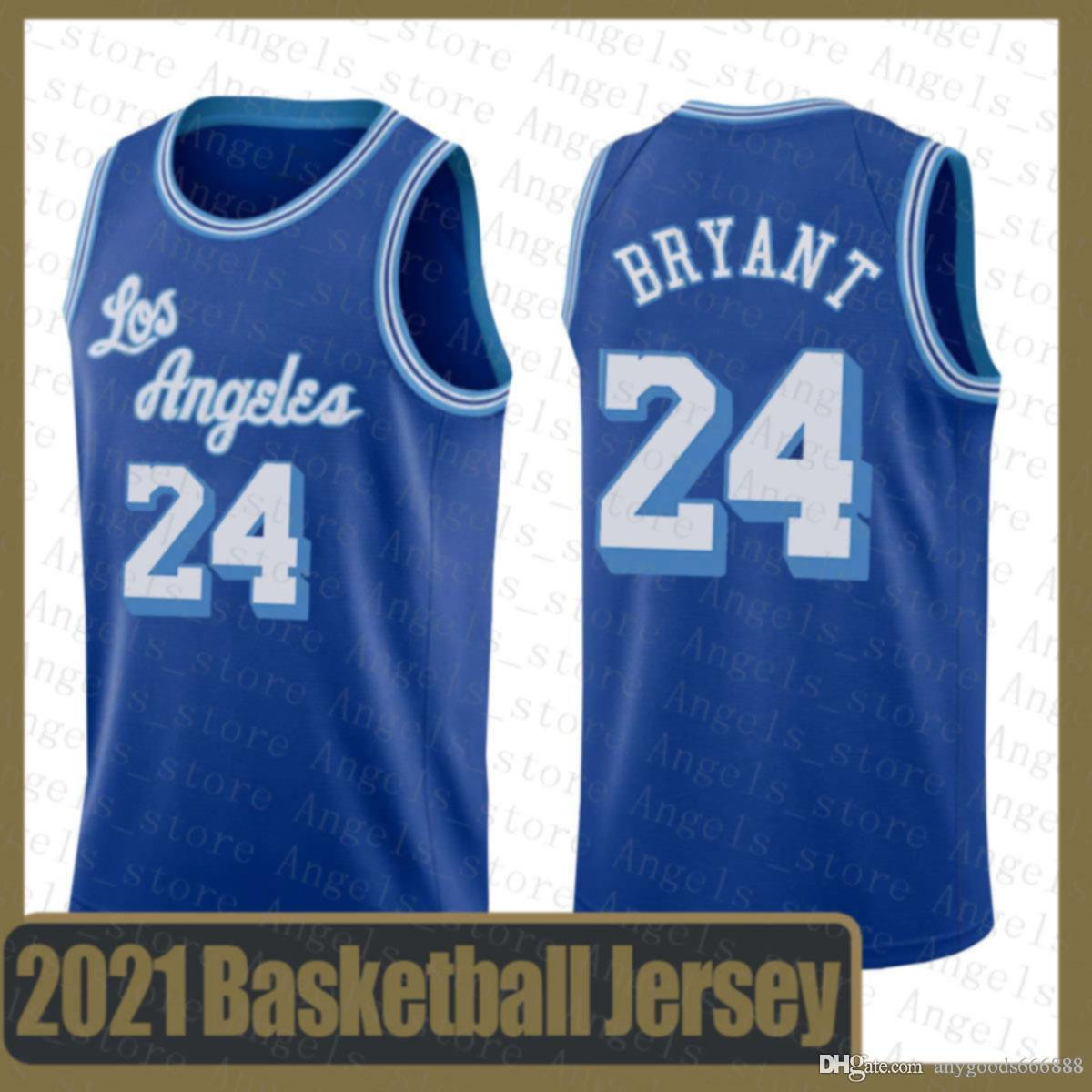 Ncaa los angeles.Lakers.Kobe.24.Bryant Basketball Jersey 2020 2021 New Kawhi Ja 12 Morans Leonard Zion 1 Williamson Dwyane 3