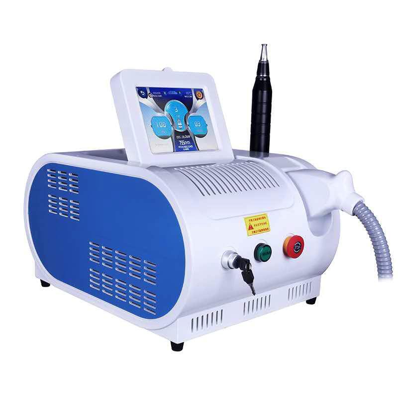 2020 Многофункциональный портативный Picosecond Laser ND YAG-лазер для черной кукловой татуировки удаление поры для удаления лица подтяжки пигмента удаление # 002