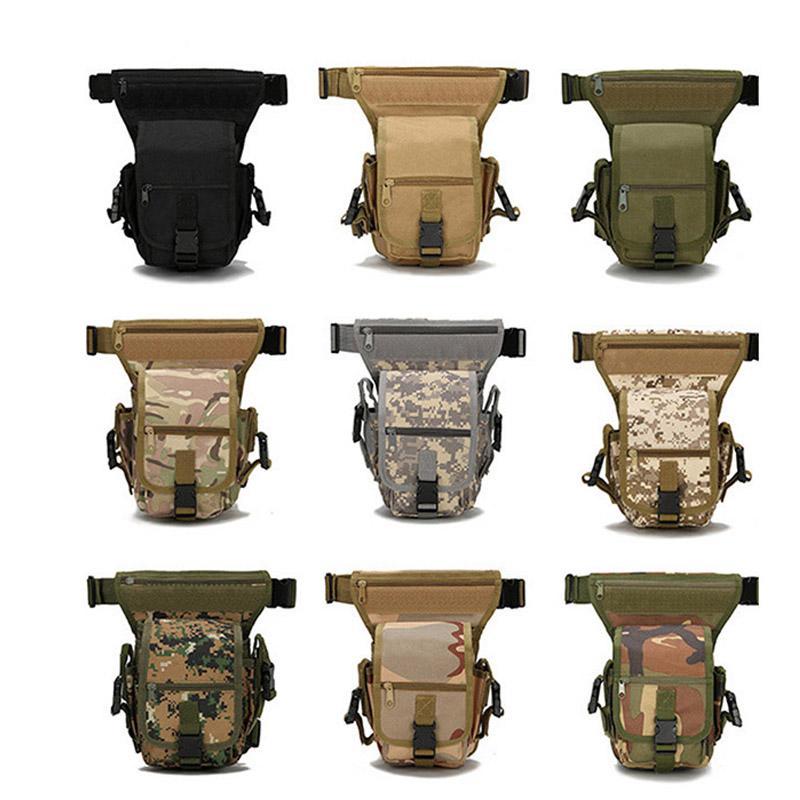 Oudoor Sport Sac Tactical Pack Assault Wayiste Combat Taille de la taille Camouflage Camo Camo Sac à jambe tactique N ° 11-450
