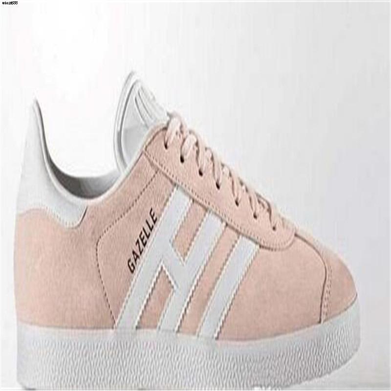 021 Unisex GAZELLE Classic Casual Flat Shoes Suede Sneakers Outdoor Lightweight Men Women Zapatillas Walking Hiking Shoes big size36-44 WFPL