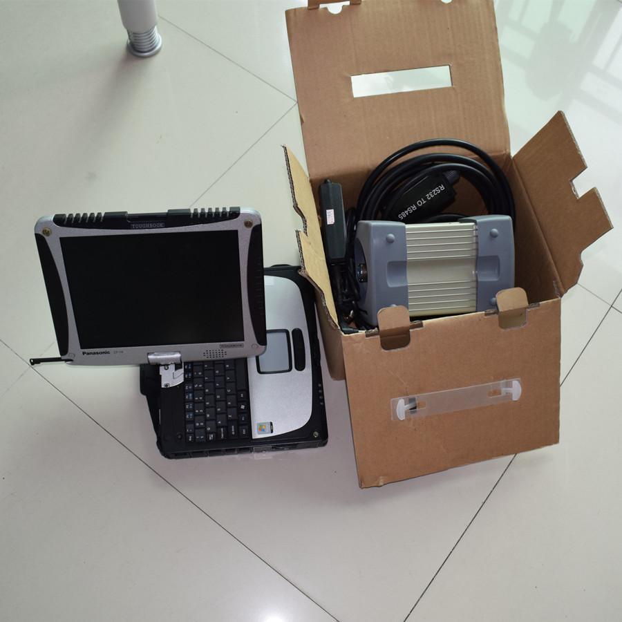 Profissional Estrela C3 Auto Ferramenta de Diagnóstico HDD 2014.12 MB Estrela C3 CF-19 4G Laptop Alta Qualidade Estrela C3 Multiplexer