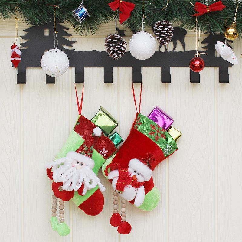Рождество носки Рождество носки мешок подарков мешок подарков Supplies украшения подарков