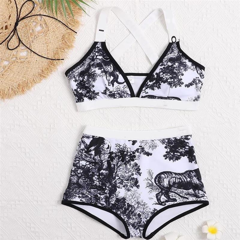 الصيف 2021 السيدات شاطئ ملابس السباحة مثير الساخن بيكيني الملابس الداخلية 2 قطع ملابس السباحة المرأة مثير ملابس النساء مصمم بيكيني