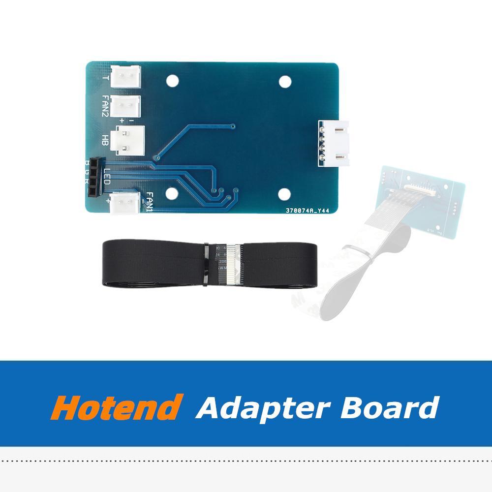 3D 프린터 액세서리 포병을위한 20 핀 케이블 키트 X1 3D 프린터 부품을위한 20 핀 케이블 키트가있는 핫 엔드 PCB 어댑터 보드