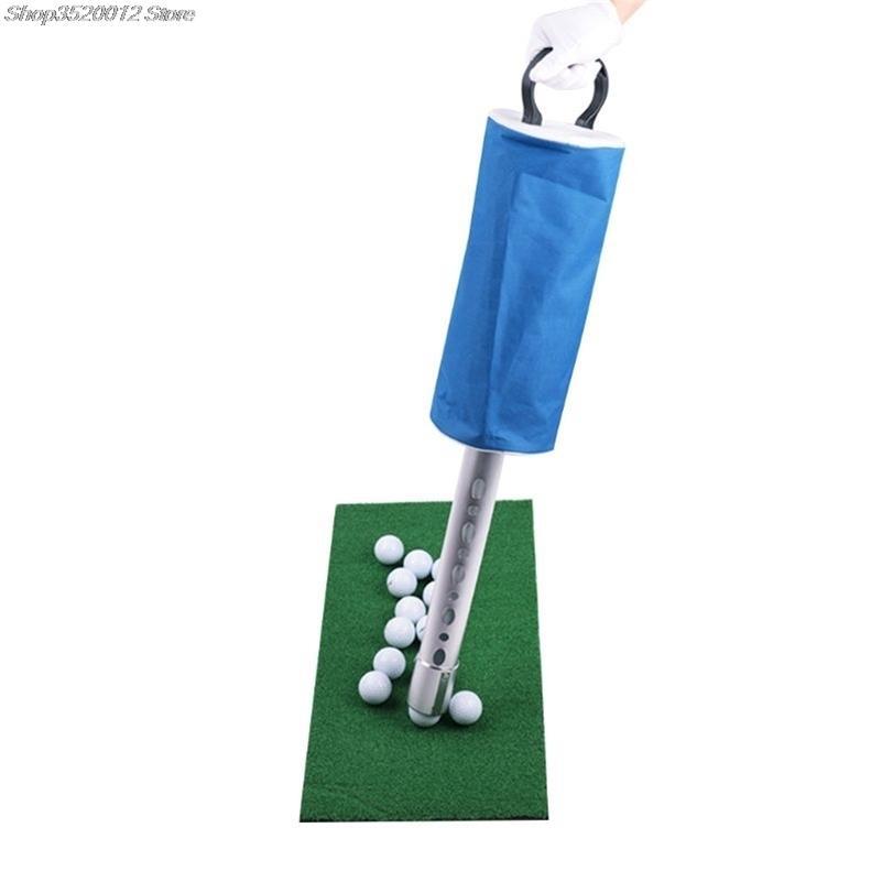 Golf Ball Picker Shag Sac Publier Publier Stockage Récupérateur Portable Ball Catcher Capteur 201124