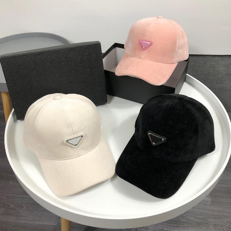 Yüksek kaliteli tasarımcı top kap kutusu ile 2021 erkek kadın moda yün ayarlanabilir snapback şapkalar unisex açık spor golf beyzbol rahat kap