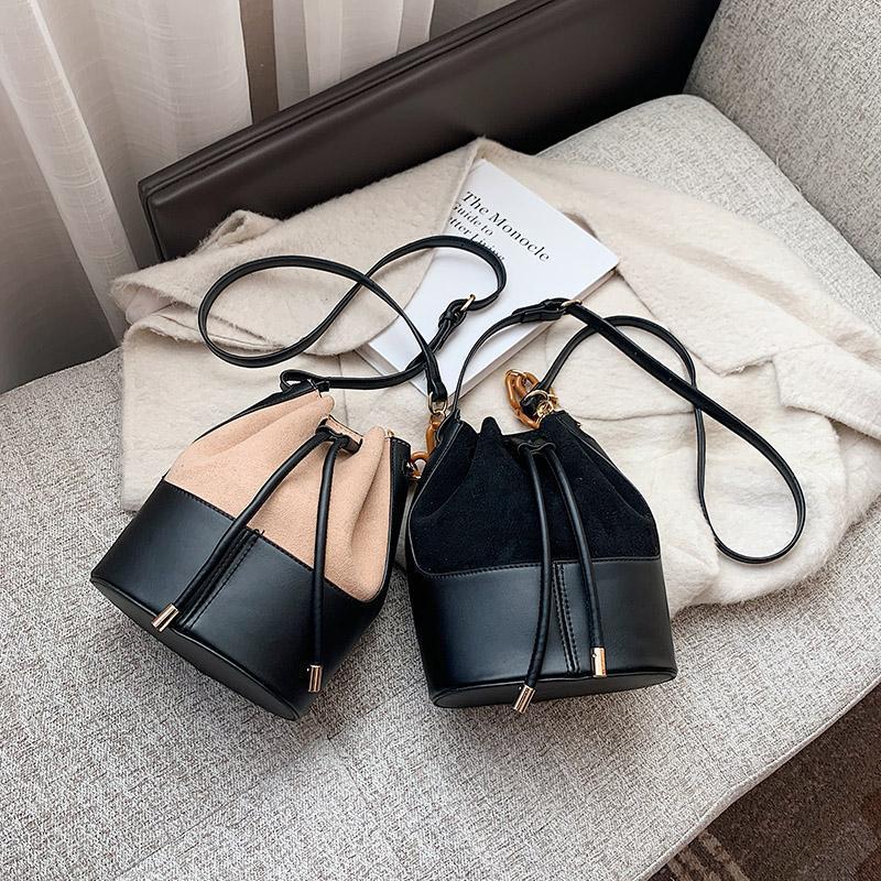Moda Donna 2021 New Trend Trend One Spalla Messenger Fashion Popular Ins Bucket Bag