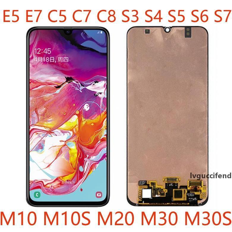 50pcs High-Quality-Handy-LCD-Screen-Montageplatten für Samsung-E7 C8 S5 S6 S7 M10S M20 M30S Reparatur und Ersatz DHL