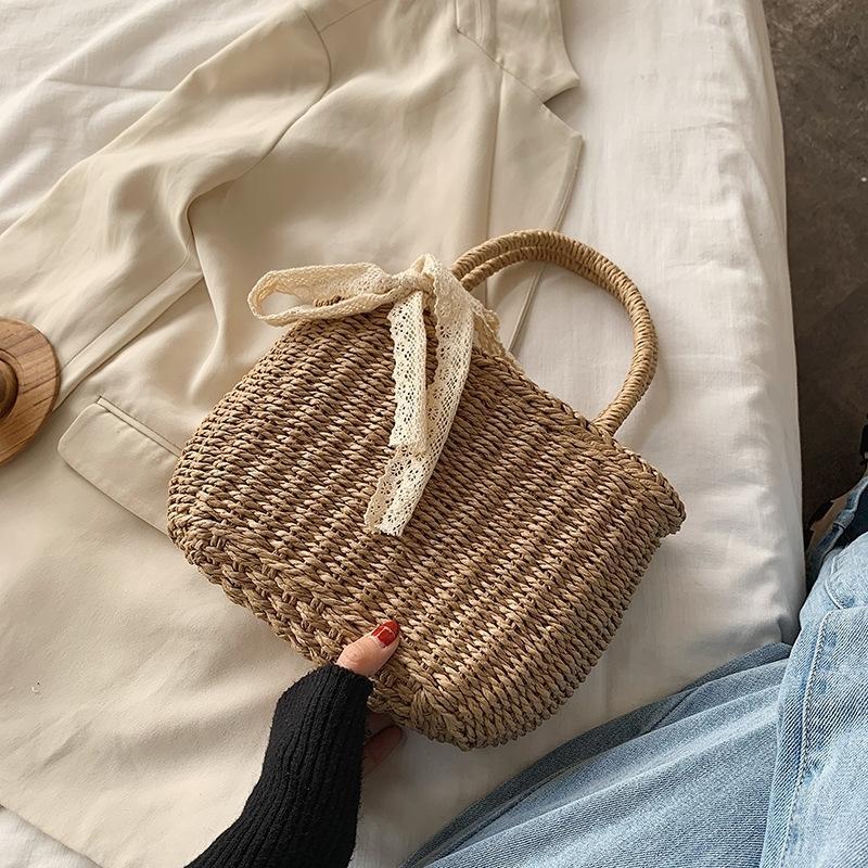 MZDLC ручного мешка и летом соломенное лето новый 2020 нового пляж портативных соломы женской мода весны сумка wlz3k