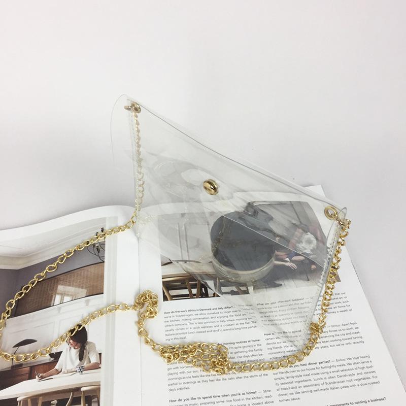 2020 Laser Shoulder Bags on Totes Messenger Female Sac a Main Transparent Bag D8ou