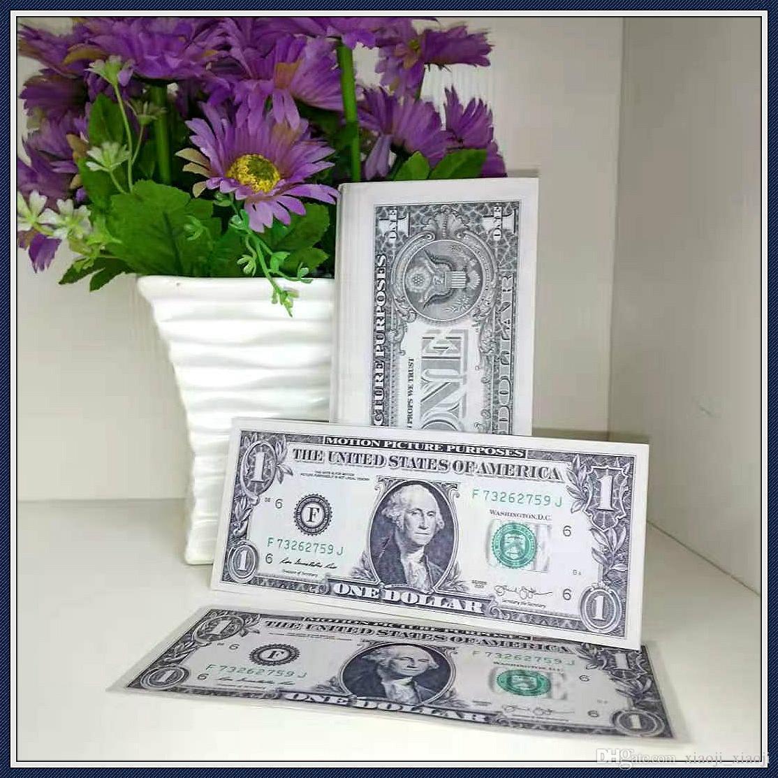 Beste und Papier Banknote Bar Dollar Copy Requisiten Requisite Stütze Pretend Realistische Geld 100pcs / Pack GDVFS