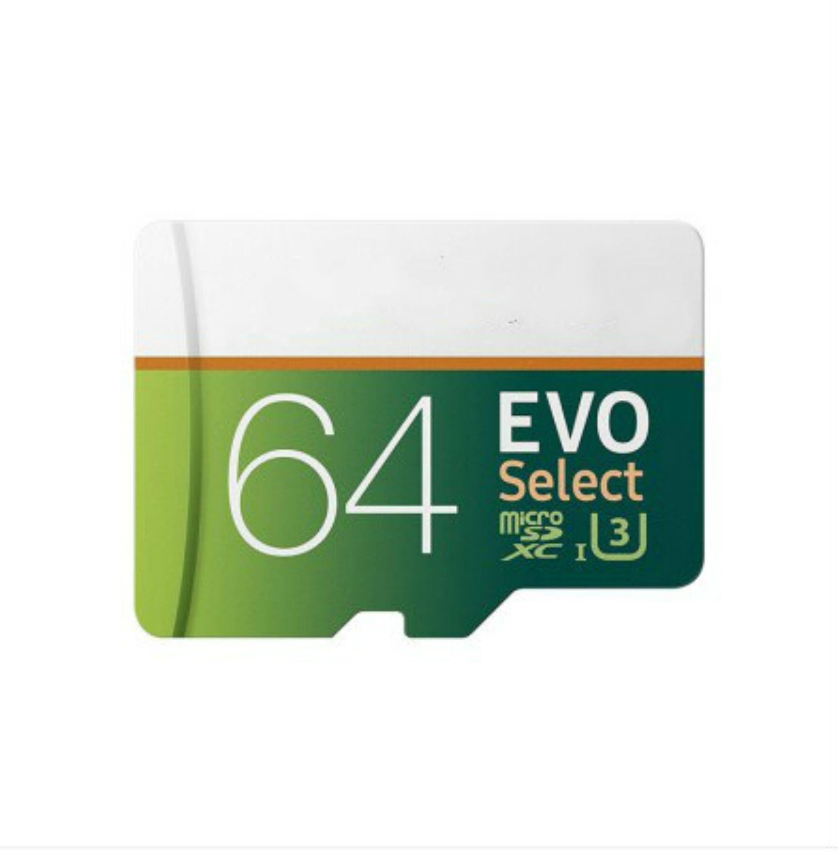 32GB / 64GB / 128GB / 256GB Samsung EVO Выбрать карту Micro SD / смартфон SDXC карта для хранения / TF-карта / карта памяти камеры 100 МБ / с