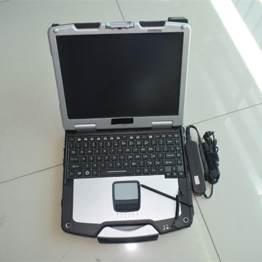 AllData Computer Tool versión instalada Todos los datos 10.53 y ATSG Auto Repair 1TB HDD con pantalla portátil de pantalla táctil CF30