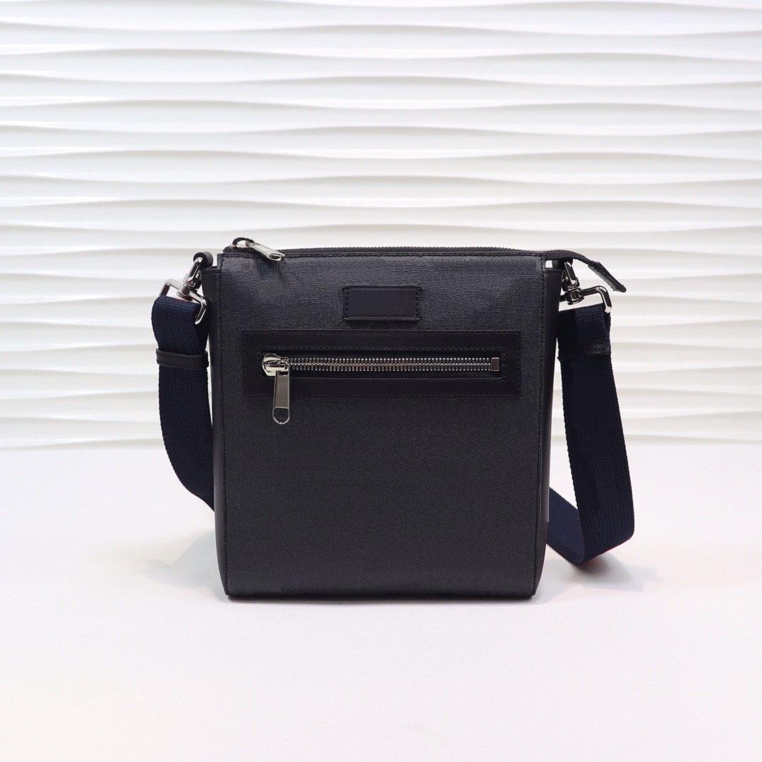 Klasik erkek bir omuz çantası çapraz çanta küçük messenger çanta lüks tasarımcı çantası, Boyutu: 21 * 23.5 * 4.5 cm, ücretsiz kargo