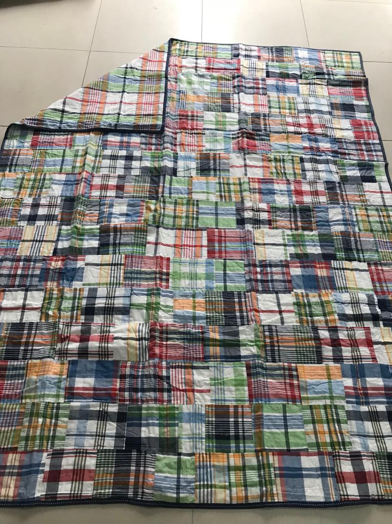mdaras Cotton Estate patchwork quilting + manuale aria condizionata trapunta Wash trapunta 2,4 kg comfort letto 100 bambini in cotone doppia