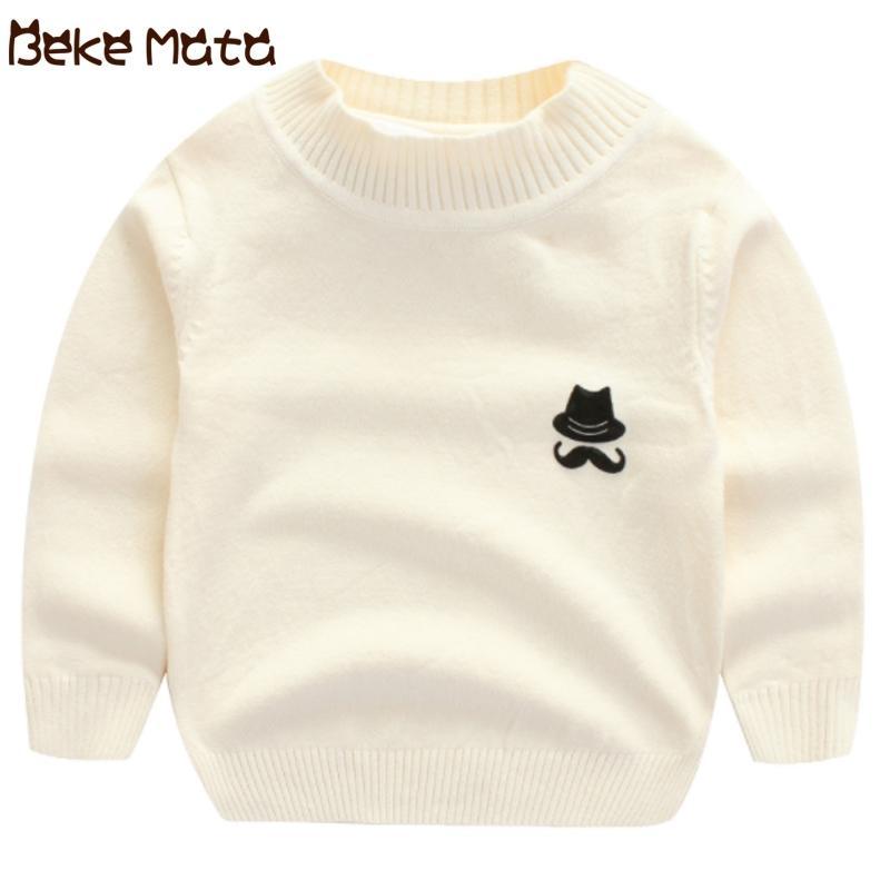 Camisolas de crianças para meninos outono novo casual sólido criança camisola menino o-pescoço bebê cardigan menino roupa camisola de crianças y200901