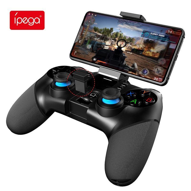 Ipega PG-9156 Bluetooth GamePad 2.4g WiFi Game Pad Contrôleur Mobile Trigger Joystick pour téléphone portable Android Smart Phone TV Boîte PS3