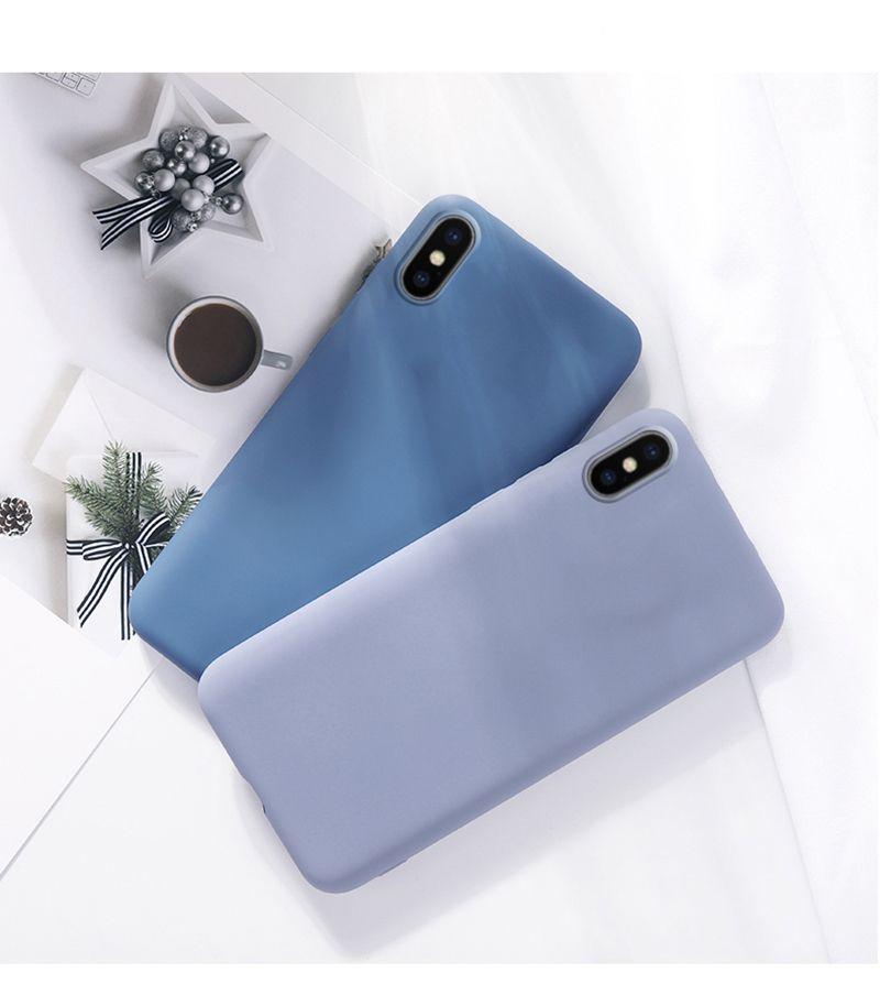 Para iPhone SE 2020 6/6s 7Plus / 8Plus x / xs xr xs max silicone silicone à prova de choque caixa de pára-choques case
